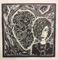 The eldest's winning artwork.