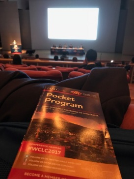 The World Lung Cancer Conference official program.