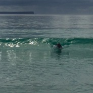 DD body surfing.