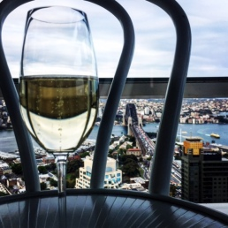 My Mumm ... with a view