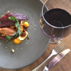 Roast duck at Margan.