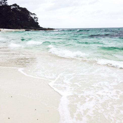 Beautiful Hyams Beach.