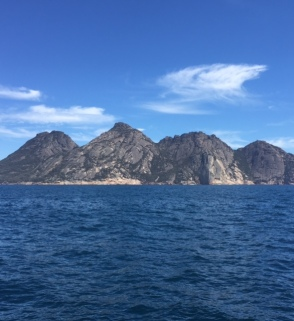 The soaring granite peaks.