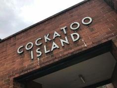 Cockatoo Island entrance.