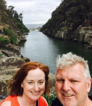 Gorge selfie with gorge boyf.