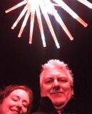 Vivid selfie, perhaps not our best angle ...