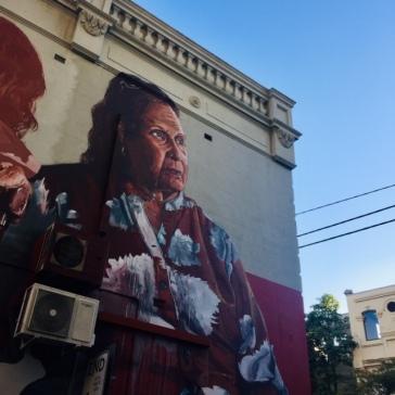 First Redfern mural.