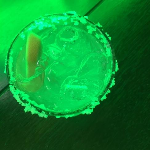 Arty margarita shot