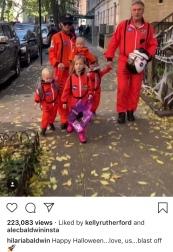 Alec Baldwin & family
