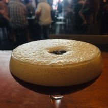 Salted caramel spresso martini chaser to ease the pain of tooth crisis