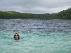 Me in Lake McKenzie!
