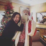 "Kelly Osbourne: ""Merry fucking Christmas"""