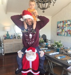"""Hamish Blake: """"Triple Deck The Halls! Have a bloody ripper everyone."""""""