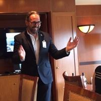 David Vitale discusses his whiskies.