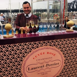 The Laurent Perrier bar.